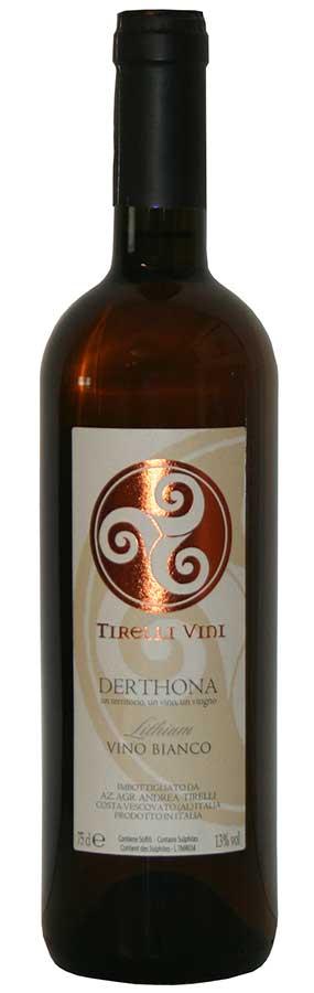 Bottiglia di Derthona, il timorasso di Andrea Tirelli